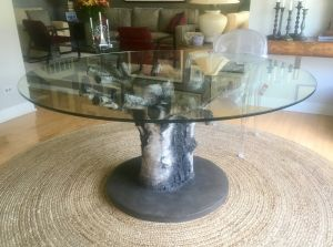 Birch, texture, one of a kind, dining table
