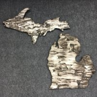 decorative concrete birch bark the up the mitten michigan